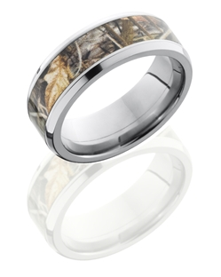 RealTree® Max4 Titanium Beveled Polished Camo Band