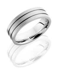 Cobalt Chrome 7mm Flat Band