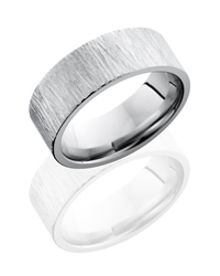 Cobalt Chrome 8mm Flat Band